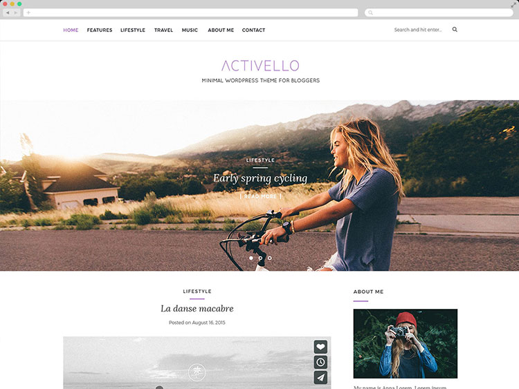 Activello - Creative WordPress Blog Theme