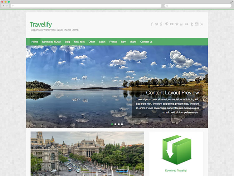 Travelify - Awesome Travel Theme