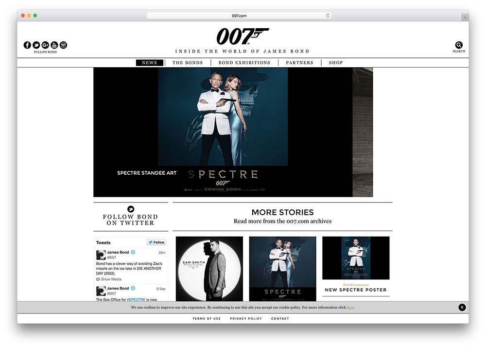 007-james-bond-wordpress-site