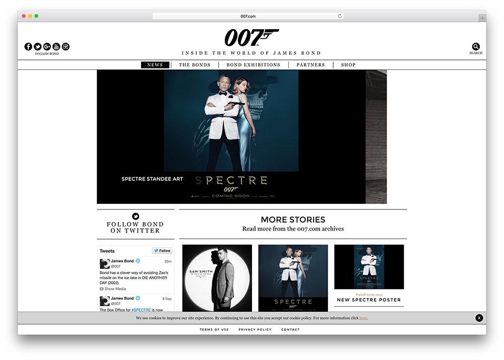 007-james-bond-wordpress-site