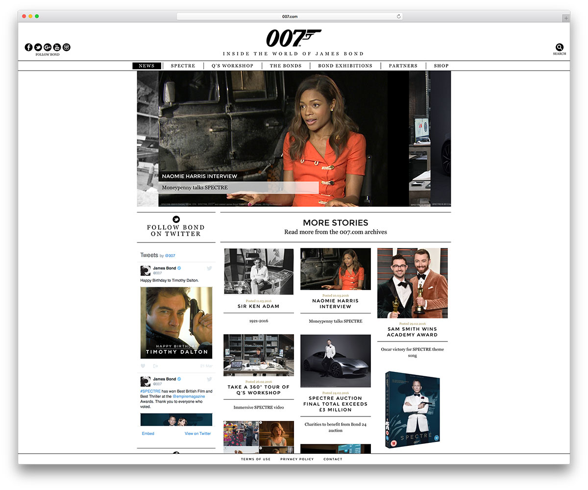 007-movie-website-using-wordpress-cms