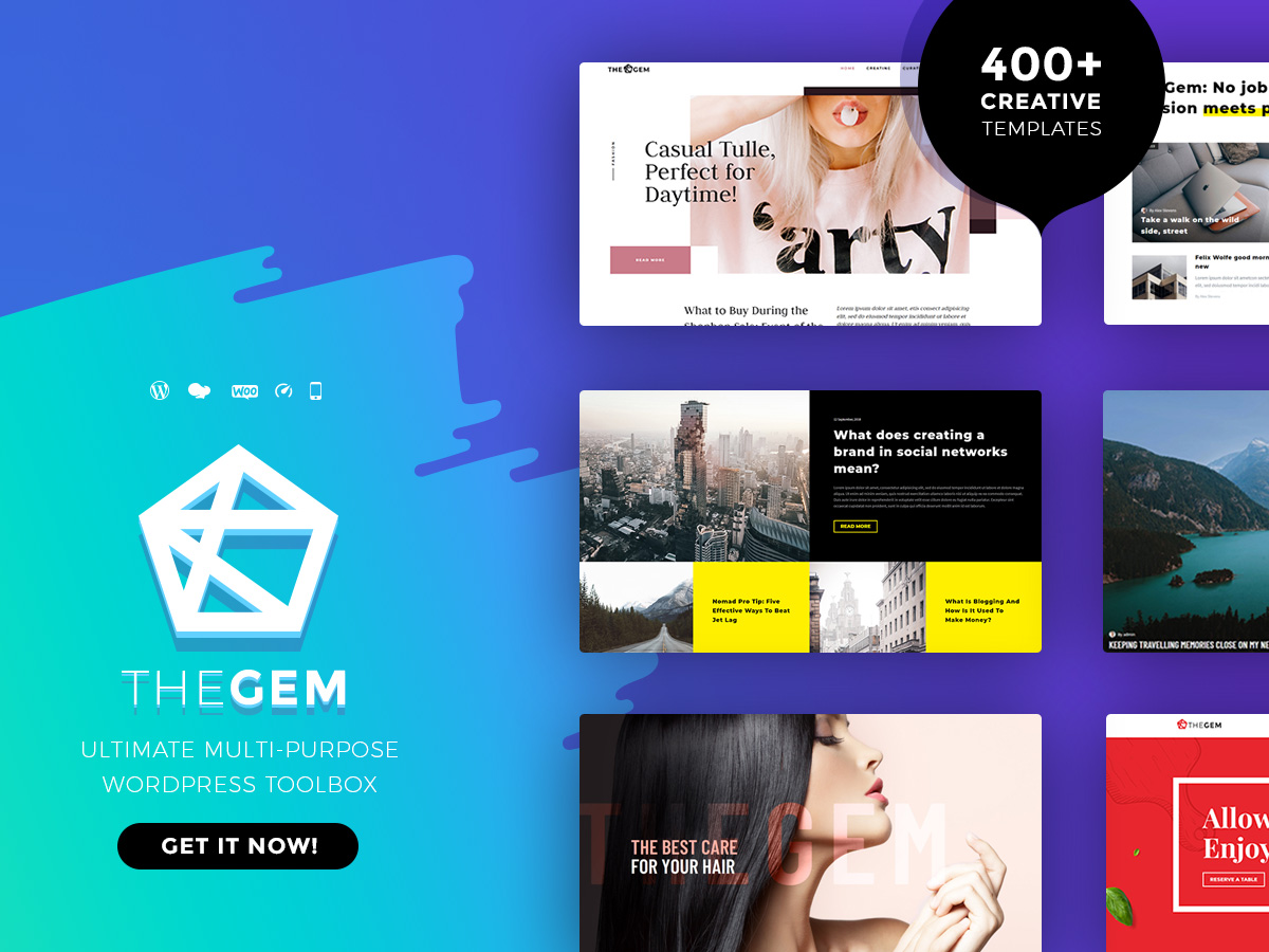 Tema de WordPress TheGem