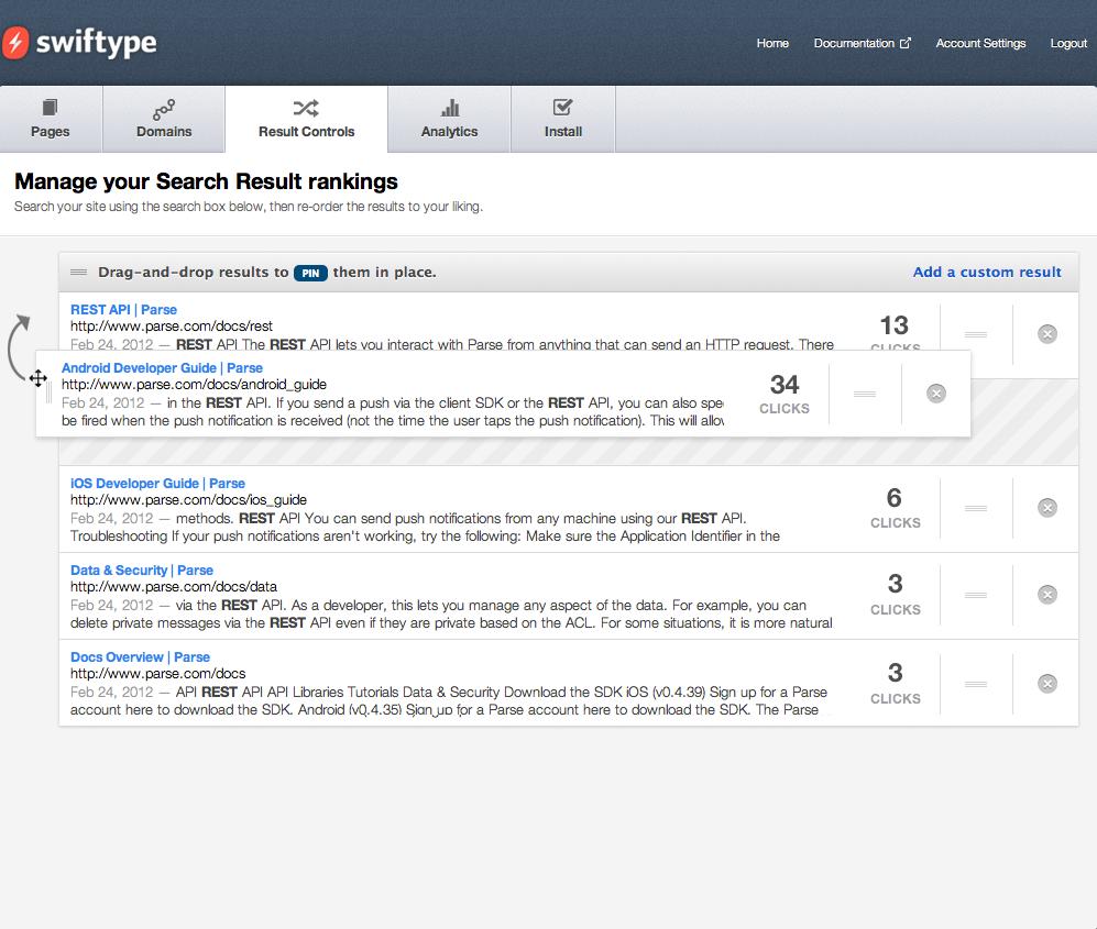 04 swiftype search search rearrange