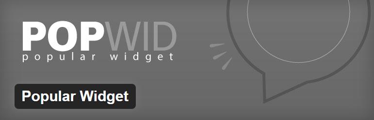 06 popular widget