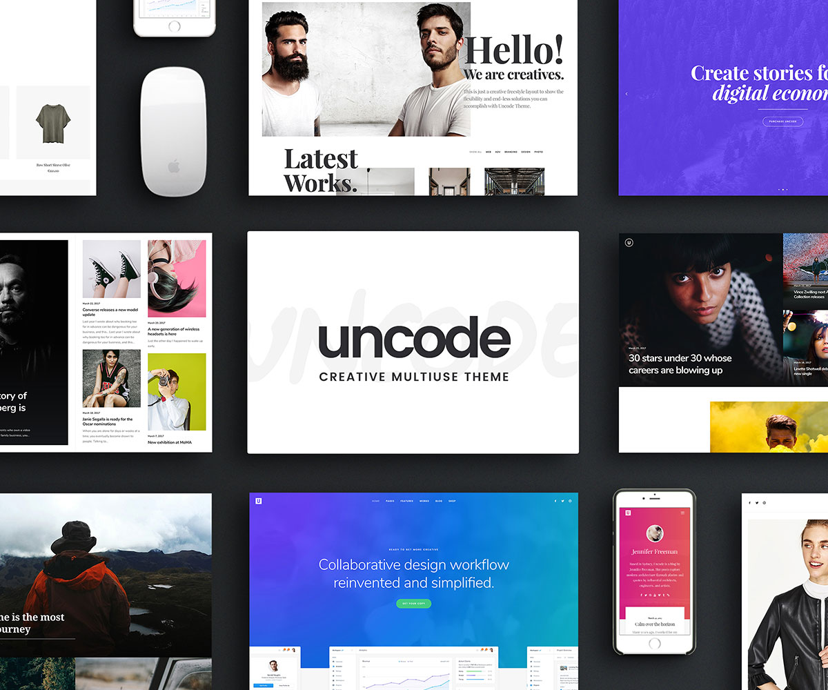 20 most popular mobile friendly wordpress themes 2018 colorlib uncode is a continuously updated technologically deft and articulate highly social media friendly thoroughly powerful amazingly dynamic and engaging fandeluxe Image collections