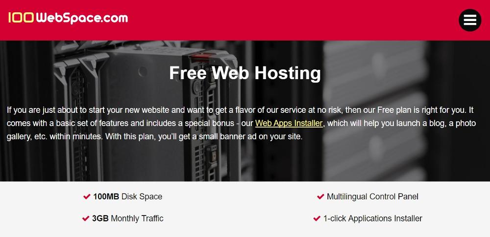 100 WebSpace