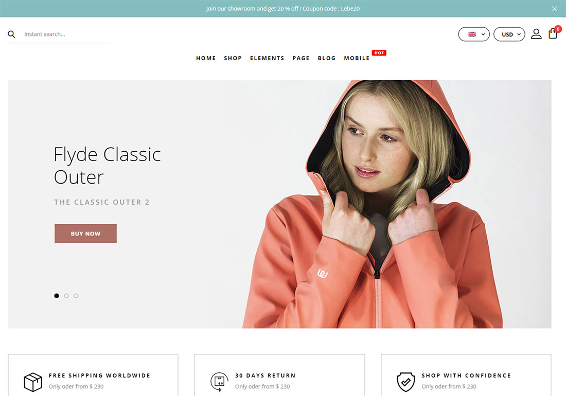 ajax woocommerce theme
