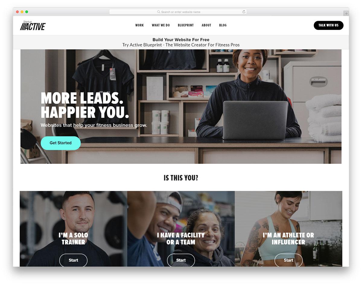 Startup Active