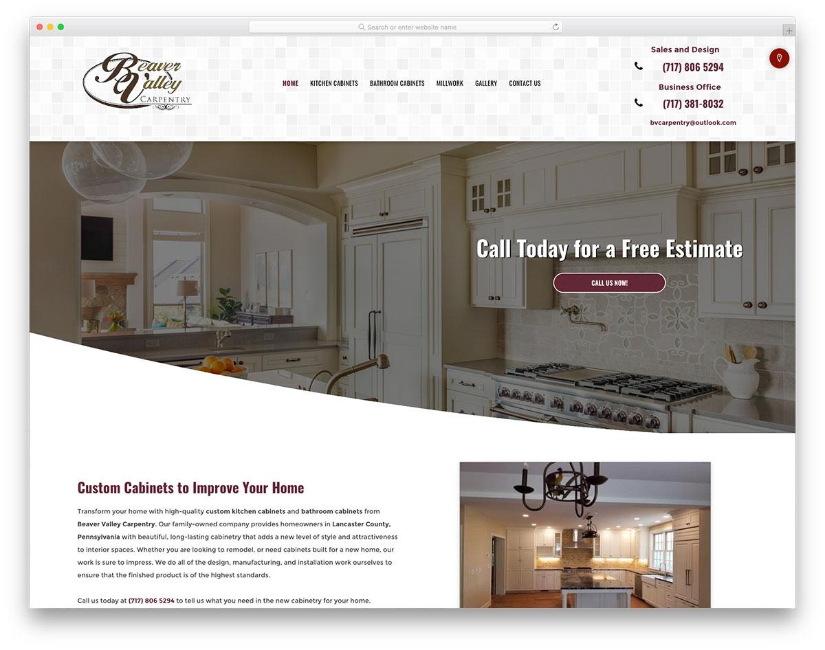 , 19 Best Carpentry Websites Inspiration To Reinforce Brands, Rojak WP