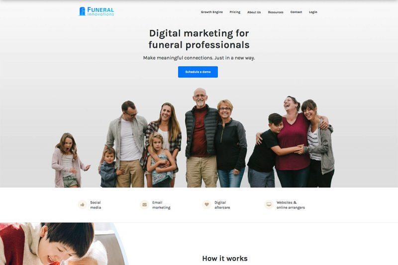 18 Best Funeral Websites For Inspiration 2020
