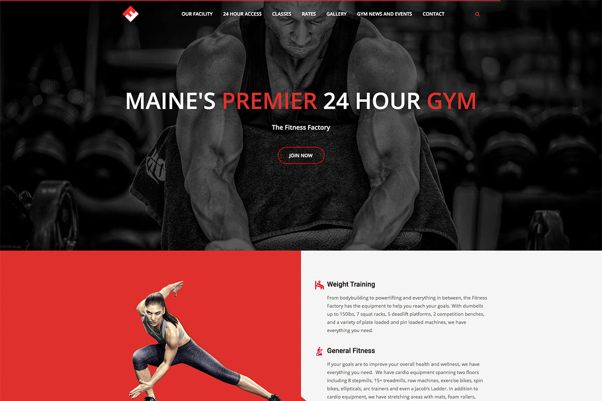 Fitness Factory Maine