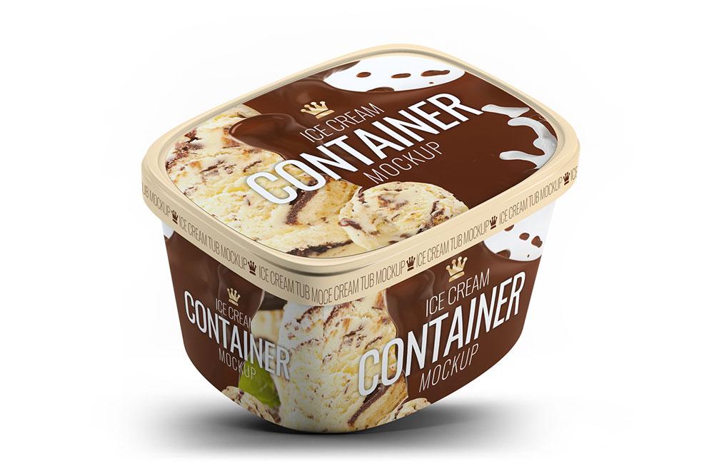 ice cream mockups
