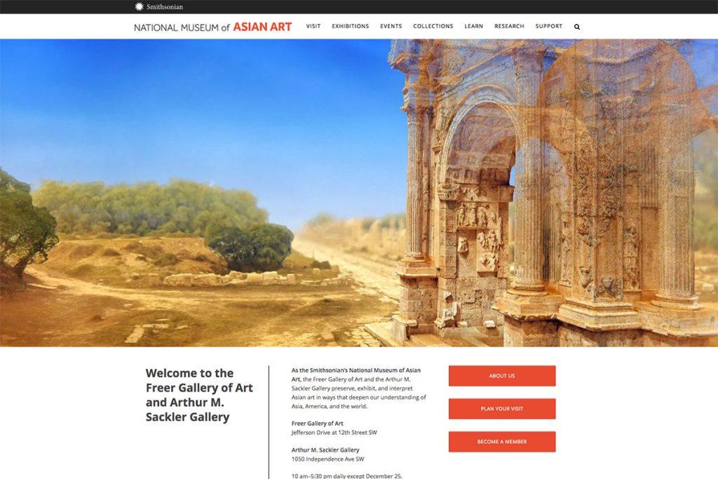 National Museum of Asian Art website