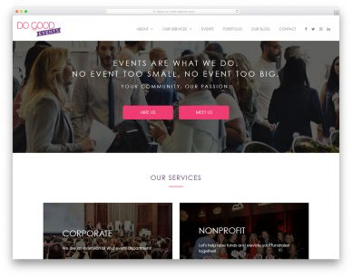 Party Planner Websites