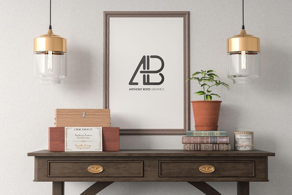 32 Excellent Picture Frame Mockups For Interior Design Ideas Colorlib