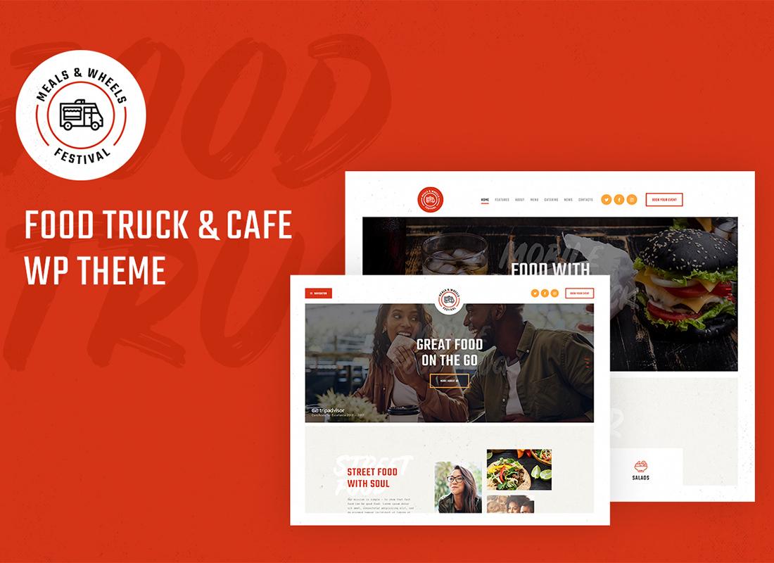 Meals & Wheels | Street Food Festival & Fast Food Delivery WordPress Theme