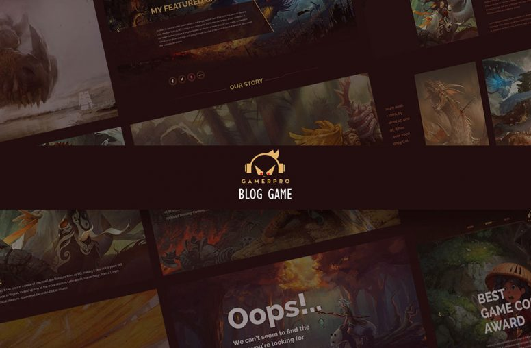 GAMERPRO – Fantastic Blog WP Theme For Game Sites