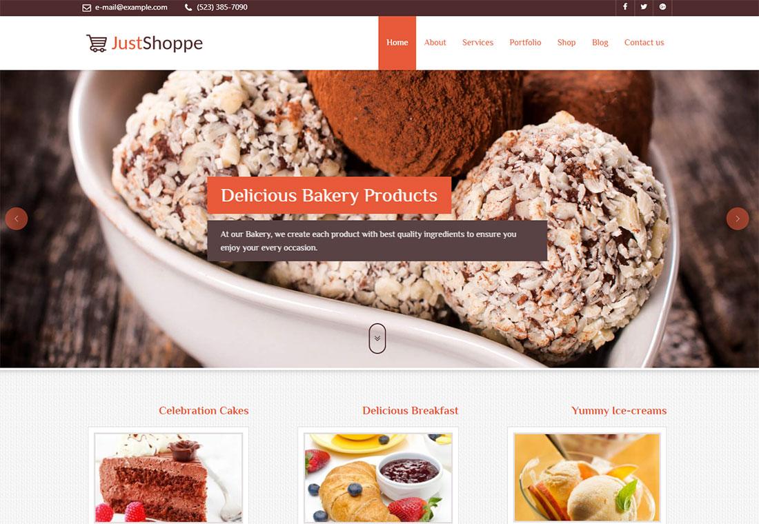 JustShoppe - WordPress