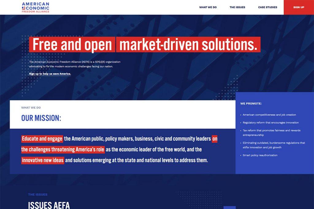 American Economic Freedom Alliance