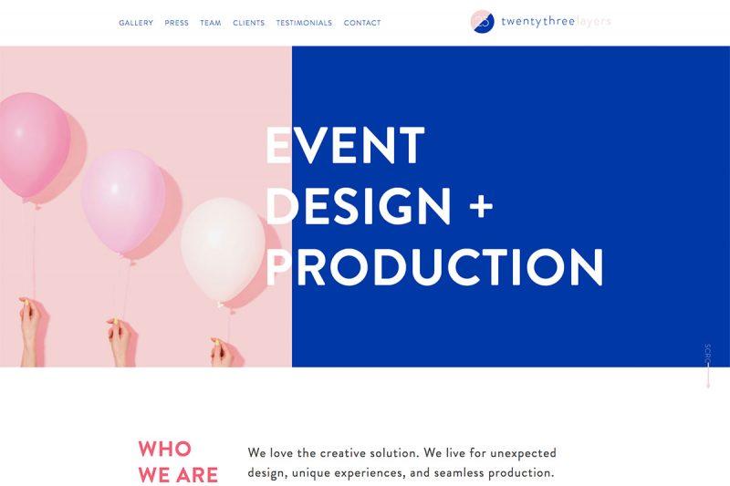 17 Best Event Planner Websites Design To Unleash Creativity 2019