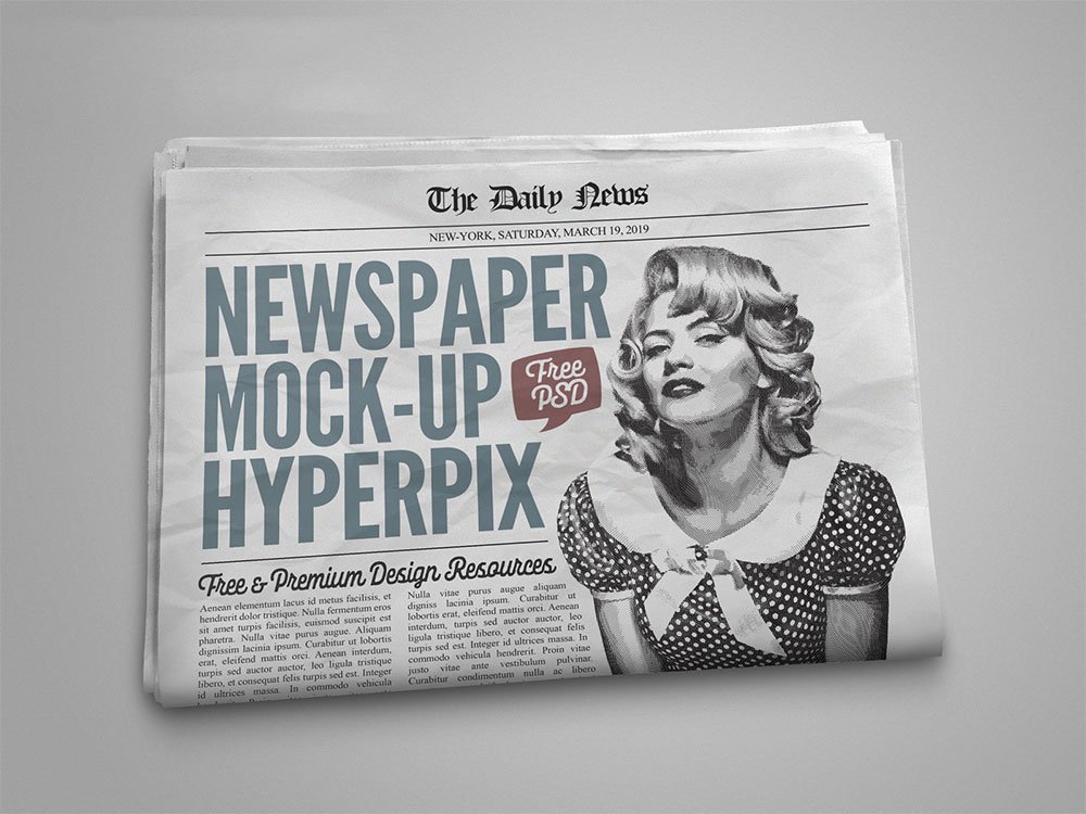 Newspaper Template Download from colorlib.com