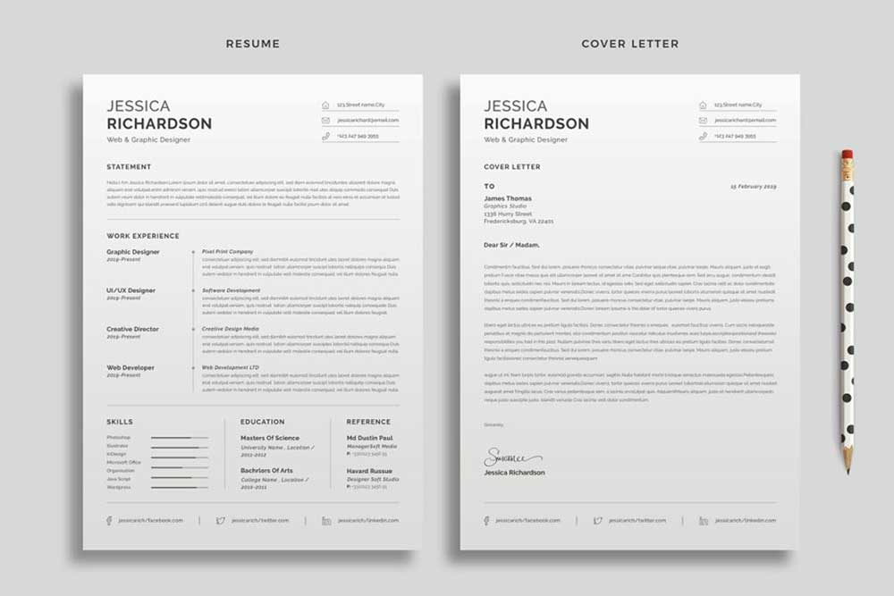 27 Useful Resume Mockups To Create Professional Resume - Colorlib