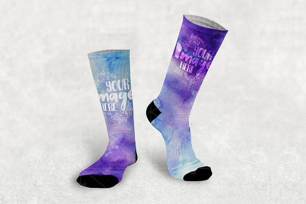 sock mockups