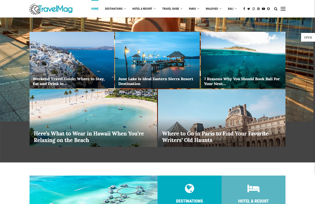 pennews travel magazine theme