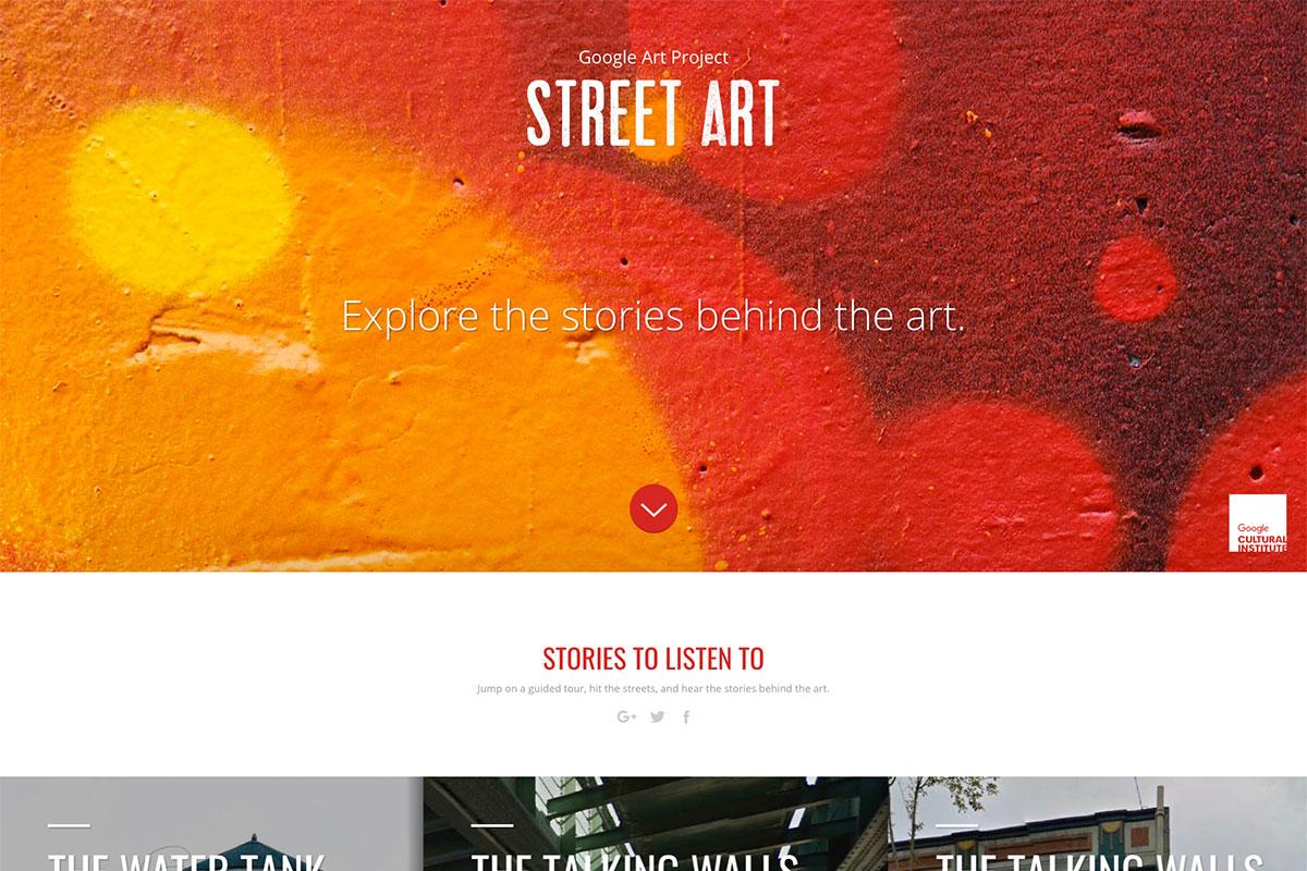 Street Art website