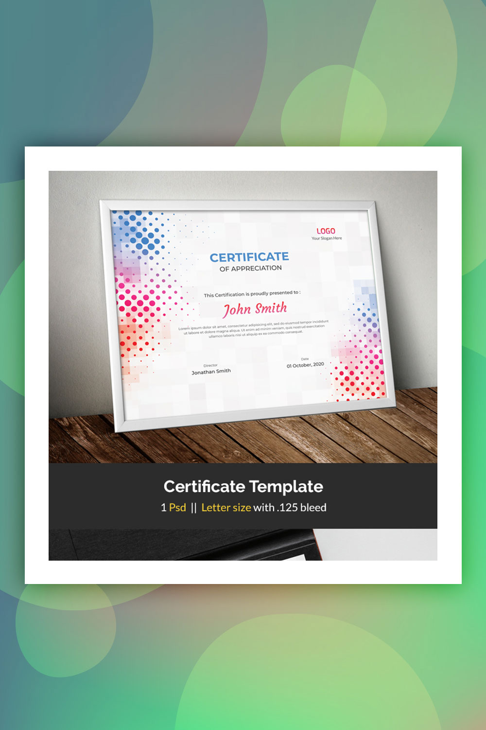 19 Attention-Grabbing Certificate Templates - Colorlib