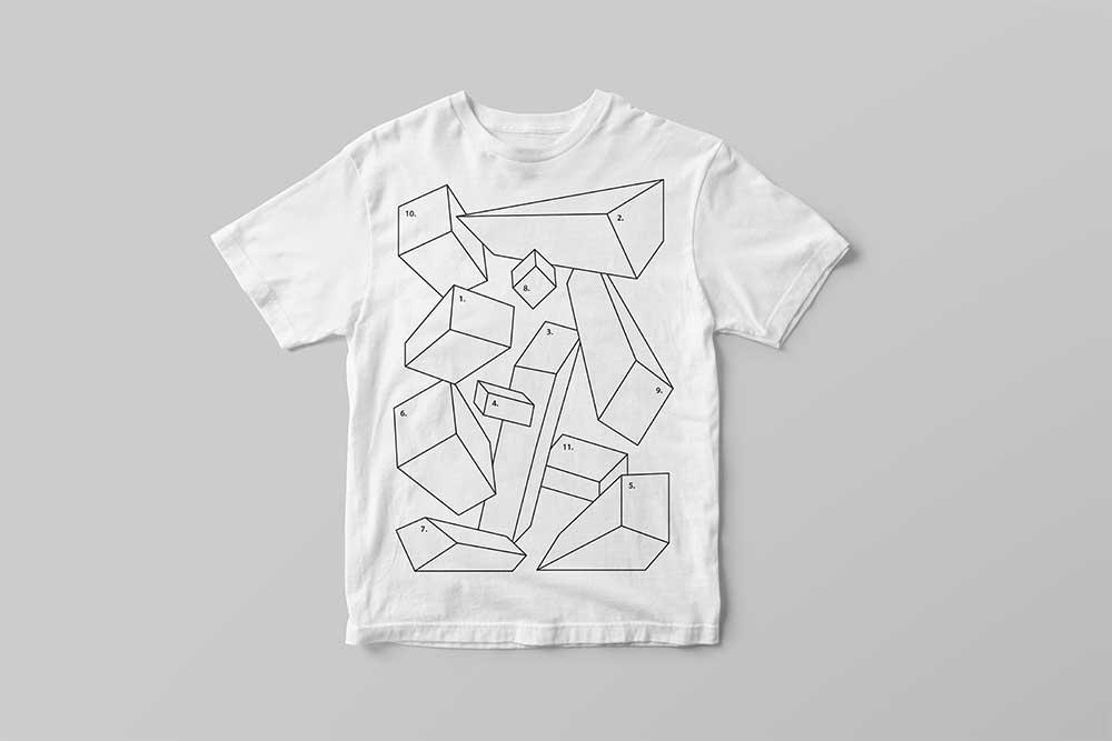 white t-shirt mockup
