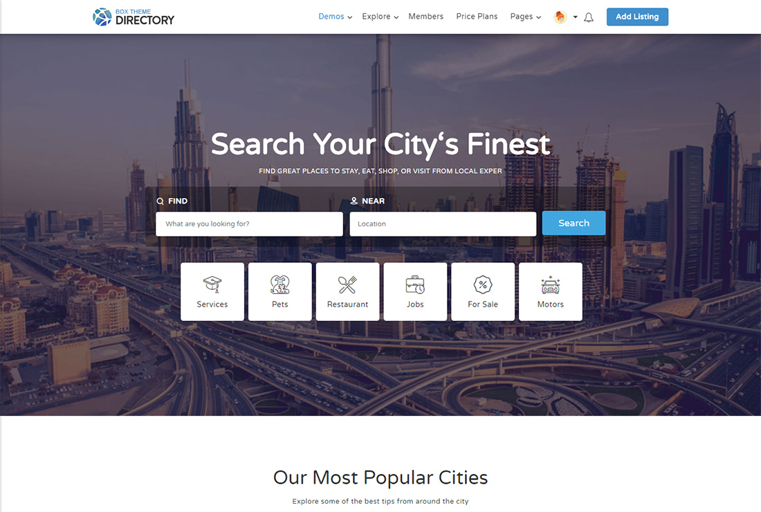Directory accessible WordPress theme