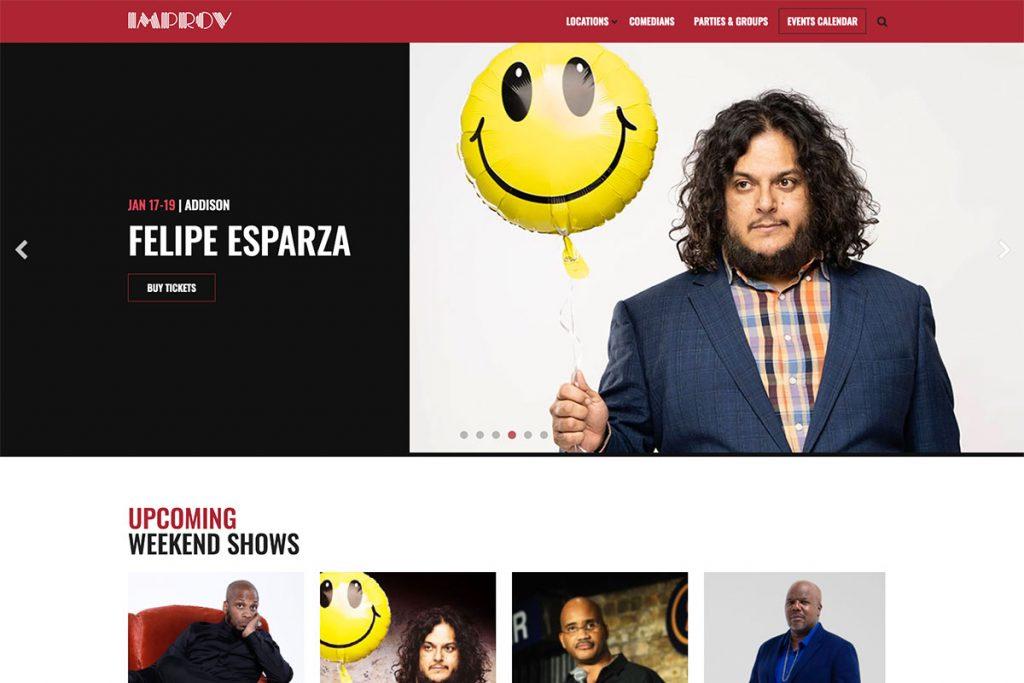 , 18 Best Comedy Websites For Design Inspiration 2020, Rojak WP