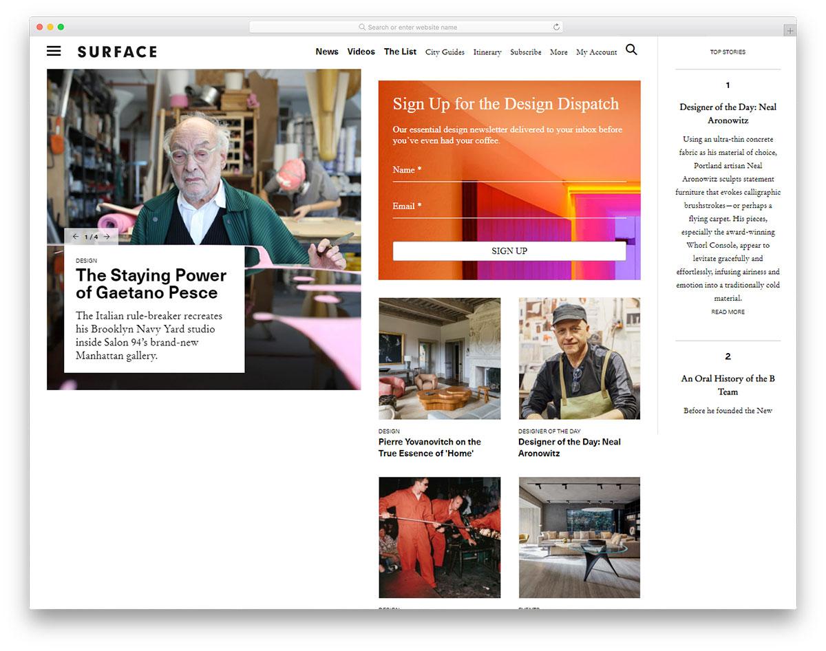 Surface Mag