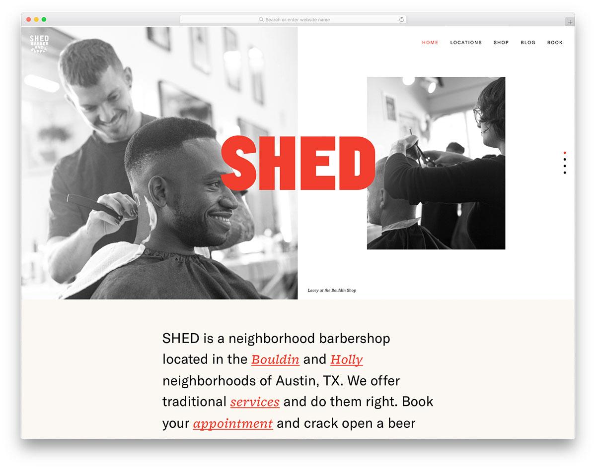 Shed Barber