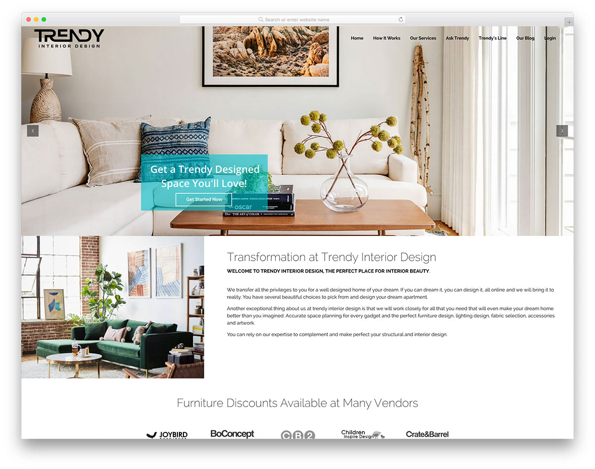 Trendy Interior Design