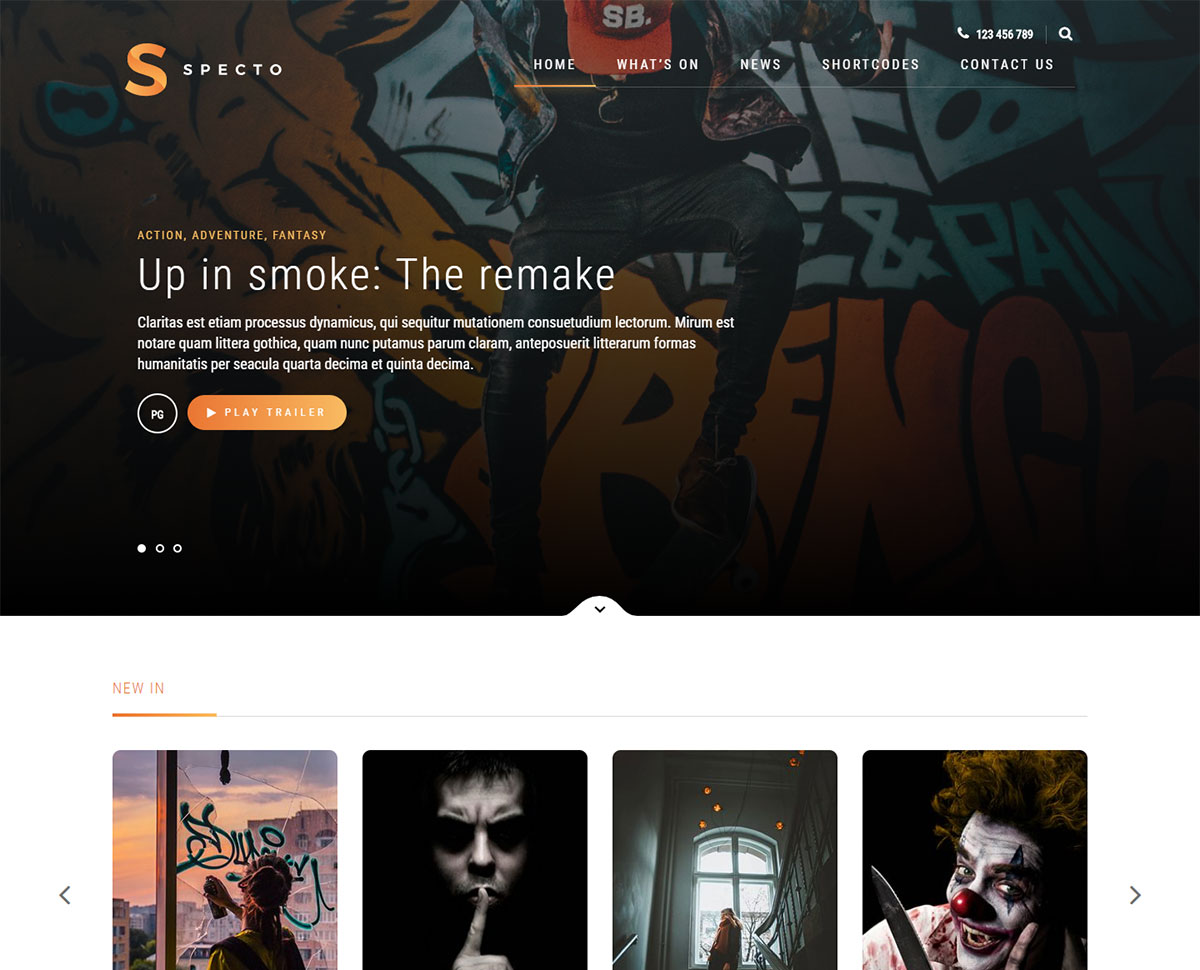 15 Best Movies WordPress Themes 2019