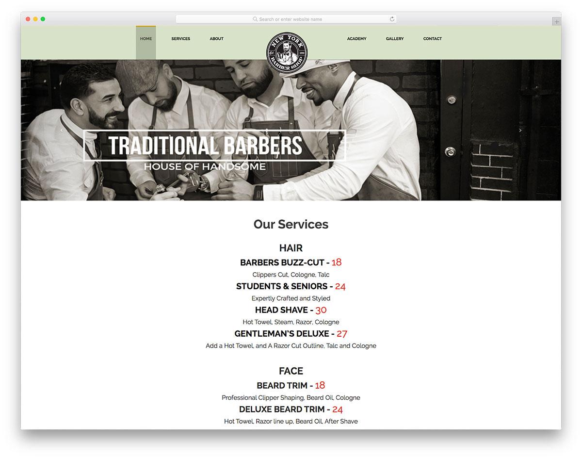 New York Barbershop