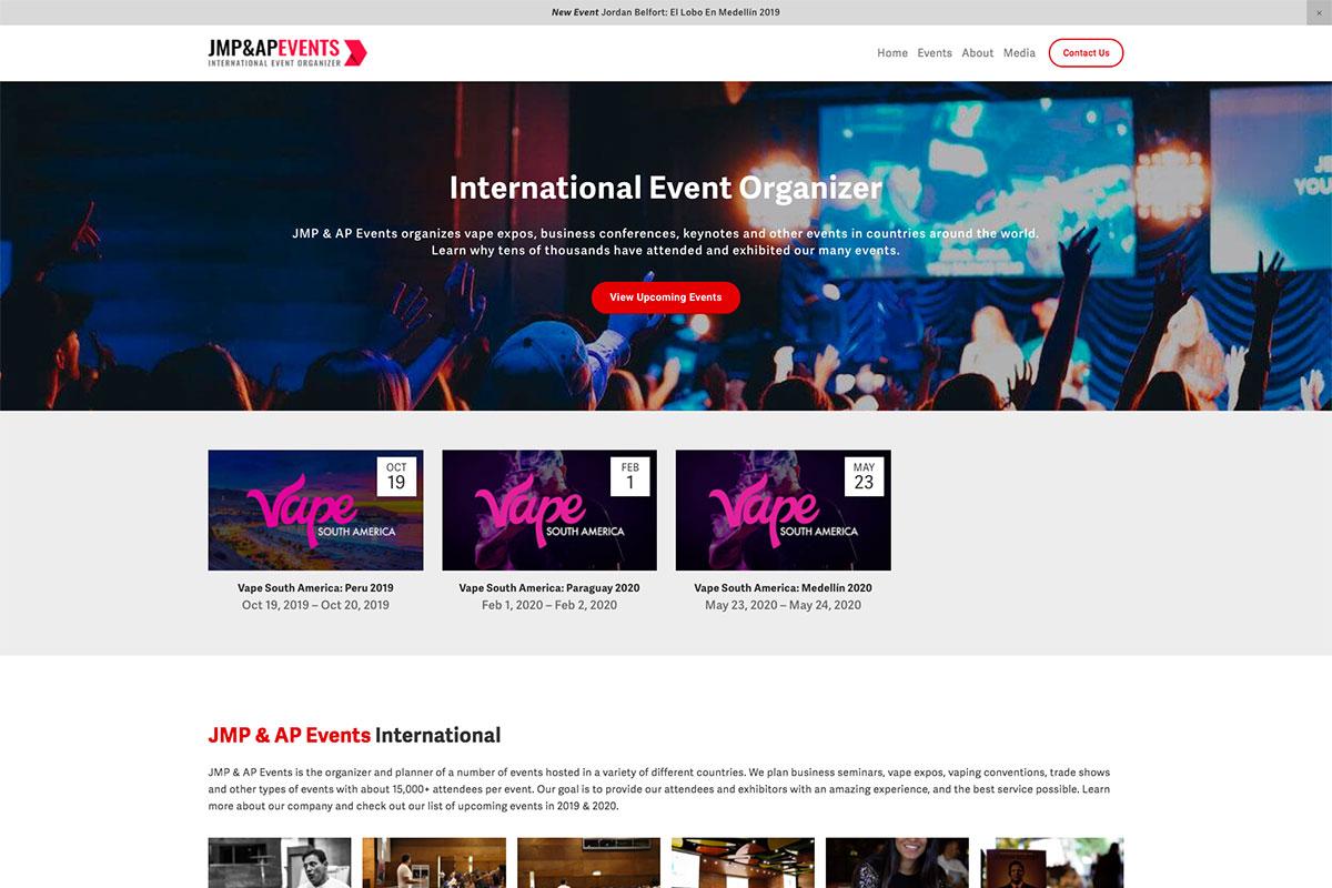 JMP & AP Events