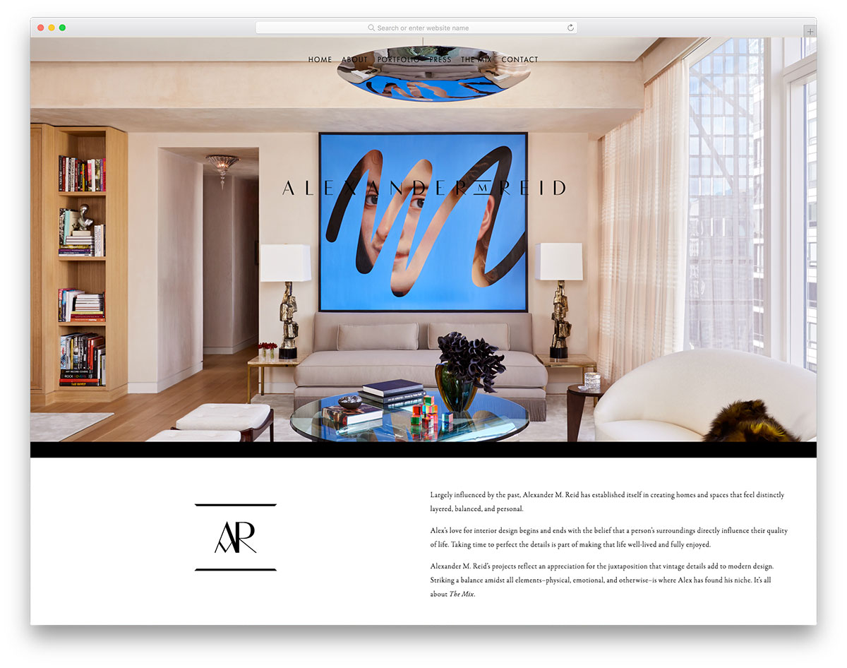 20 Best Interior Design Portfolios For Portfolio Websites 2019 Colorlib