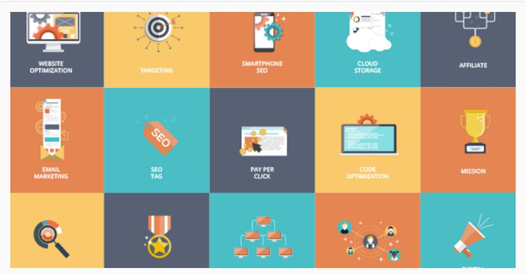 16 Animated SEO Icons