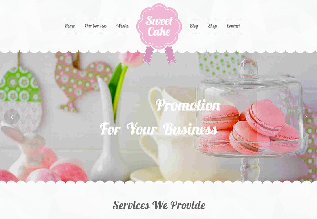 Sweet Cake - WordPress