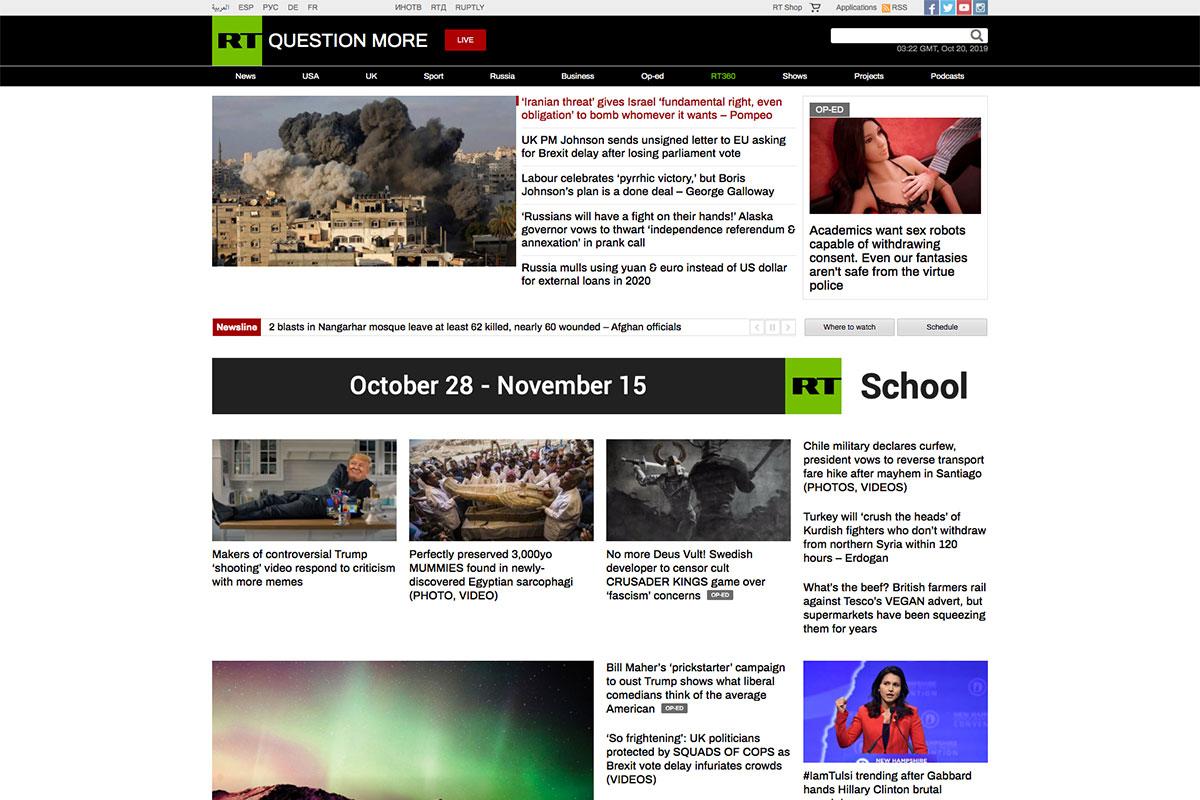 , 17 Best News Website Design For Inspiration 2019, Rojak WP
