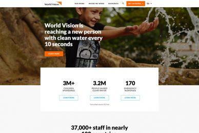 Best Charity Website Designs