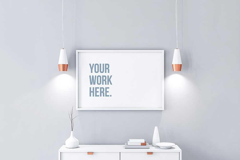 42 Horizontal Poster Mockups For Effective Marketing Colorlib