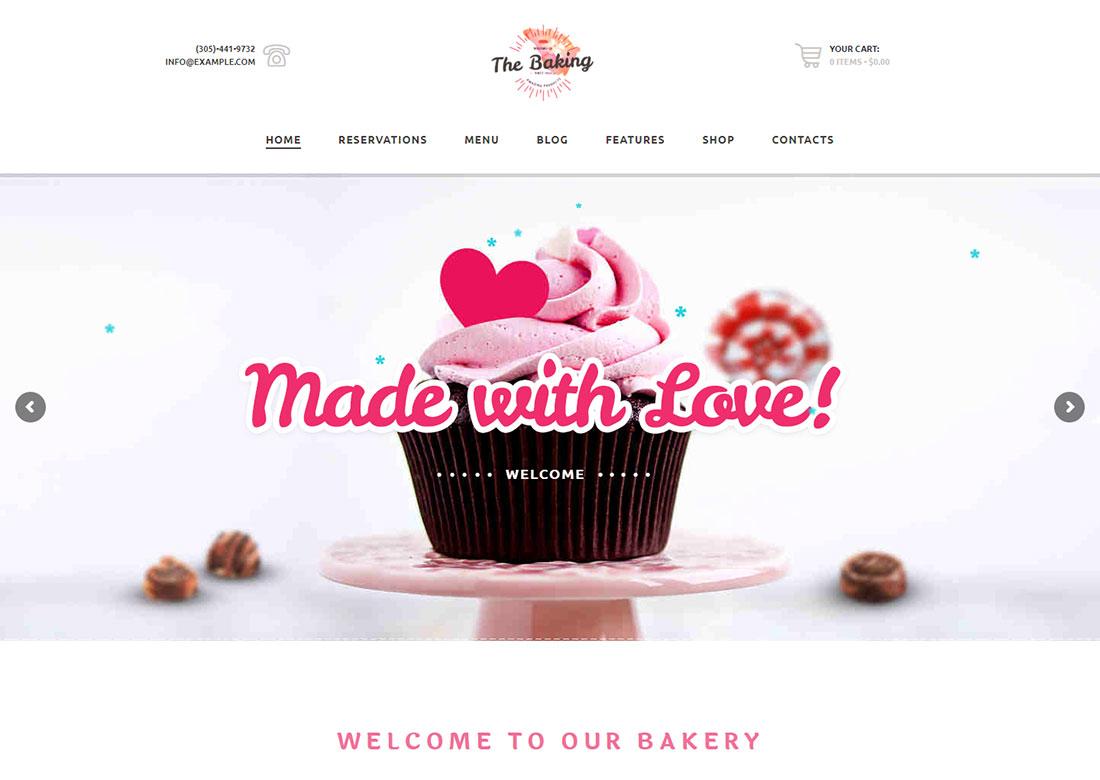 Bakery - WordPress