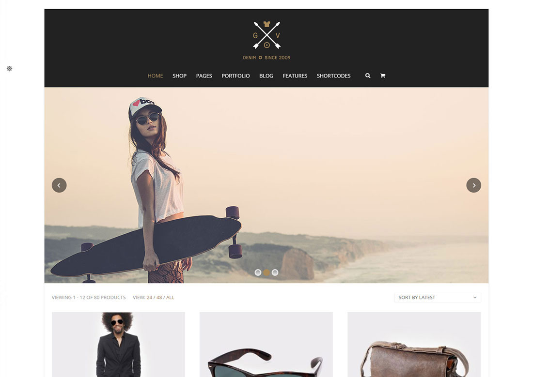 blaszok mobile friendly ecommerce theme