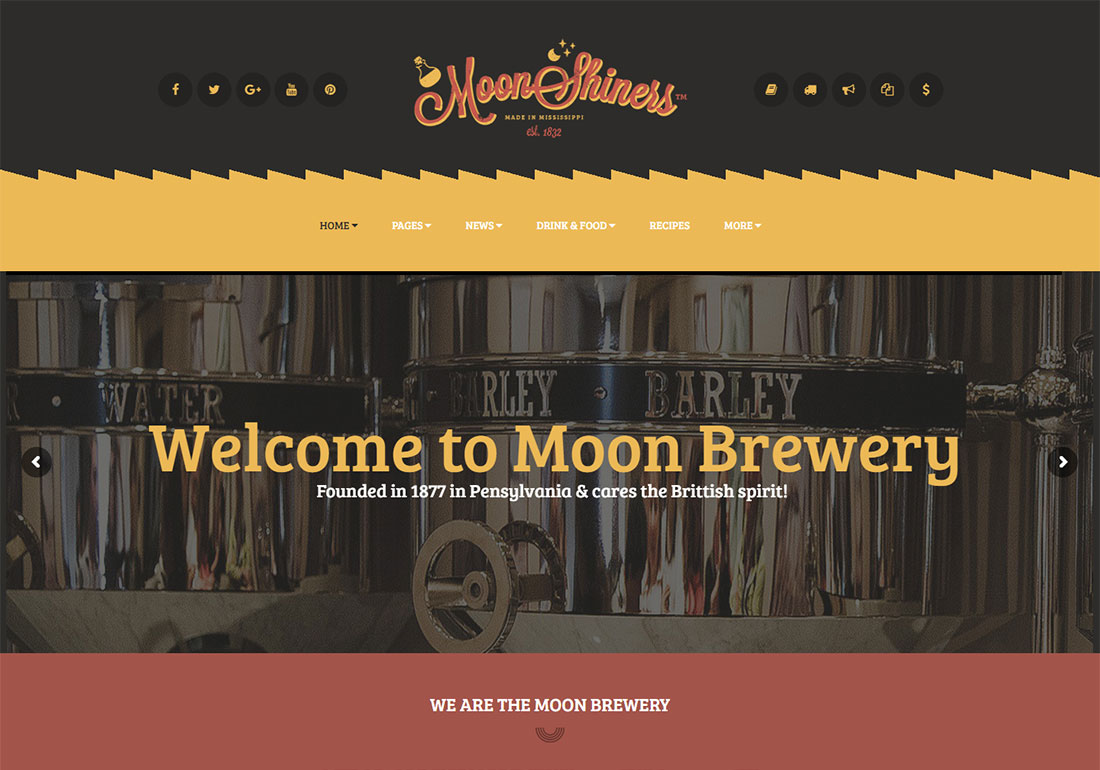 18 Best Brewery Website Templates 2019 - Colorlib