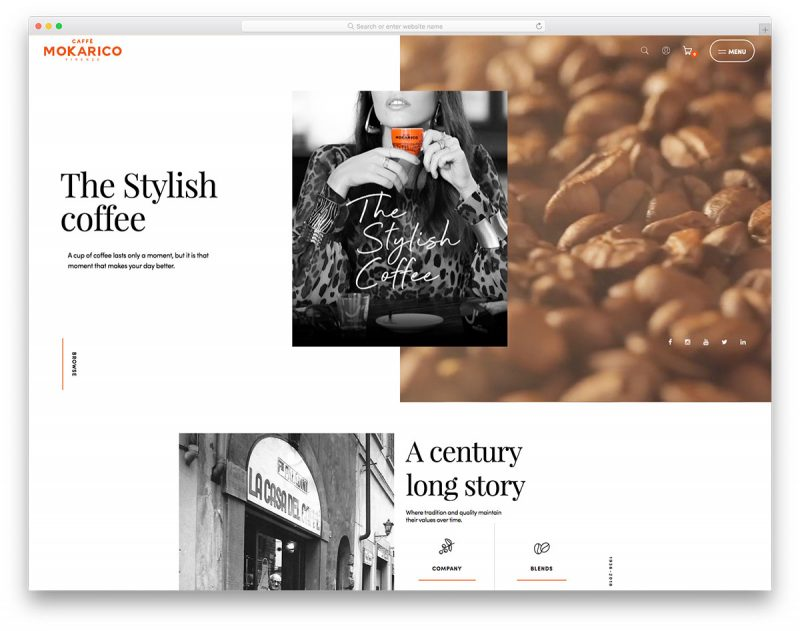 19 Best Coffee Shop Websites For Exceptional Design Inspiration 2019