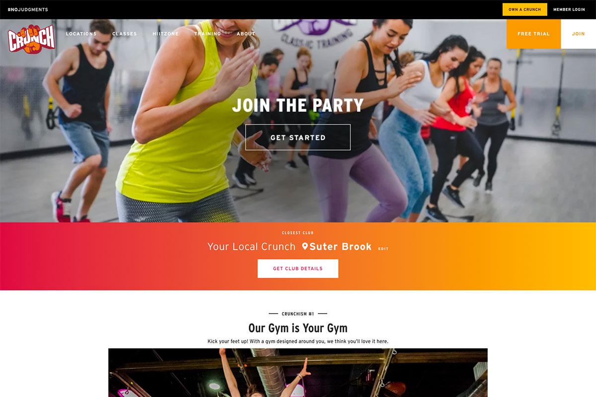 Crunch - fitness center